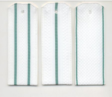 Погоны на белую рубашку (на пластике)