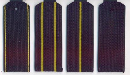Погоны  на куртку (оф/форма)  на пластике