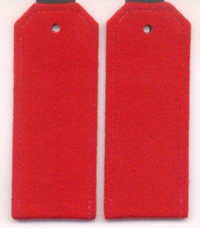 Погоны для Кадетов (красное сукно)