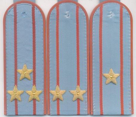 Погоны МЧС на повседневную рубашку с вышитыми звездами