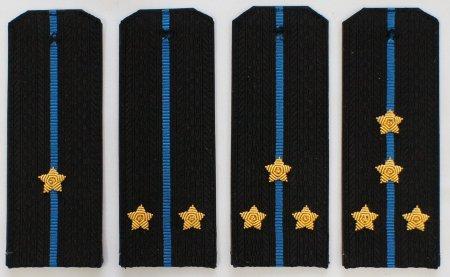 Погоны ВМФ (Авиация) с вышитыми звездами