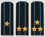 Погоны ВМФ (Авиации) с вышитыми звездами