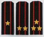 Погоны ВМФ с вышитыми звездами