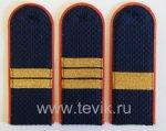 Погоны сотрудников органов внутренних дел Р Ф (полиция, внутренняя служба овд)  сержантский состав пластик
