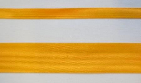 Галун для нашивок желтого цвета (Шелковый)