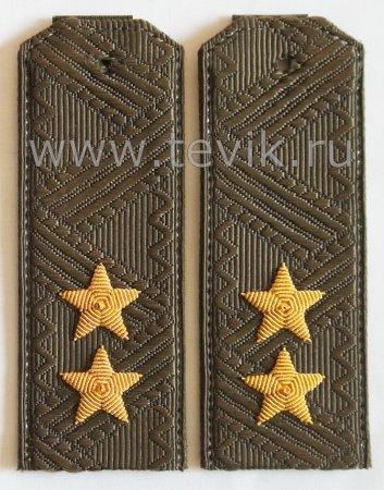 Погоны Генерал-Лейтенант ВС