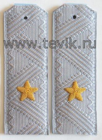 Погоны Генерал-Майор на рубашку ФСБ/ФСО