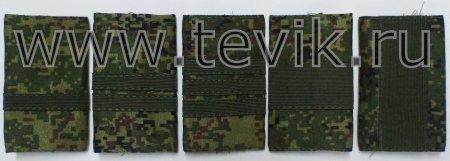 Фальш погоны сержантский состав. (полевые)