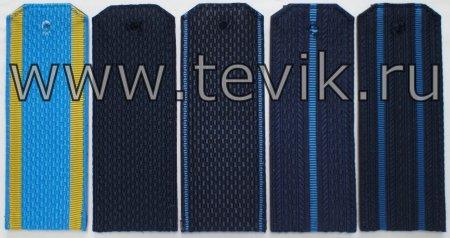 Погоны ВКС на куртку (оф/форма) пластик картон